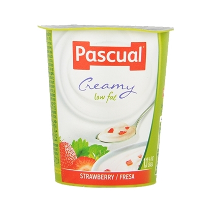 Picture of Pascual Low Fat Strawberry Yogurt Packs ( 24 Pieces *  125 GM )