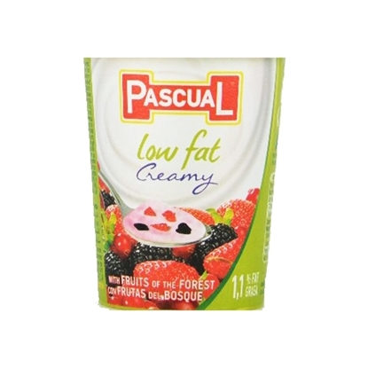 Picture of Pascual Low Fat Fruits of Forest Yogurt Packs ( 24 Pieces *  125 GM )