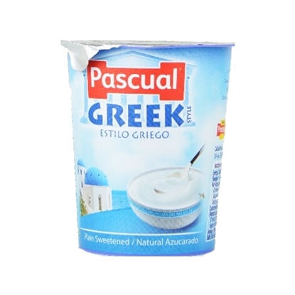 Picture of Pascual Plin Greek Style Creamy Yougurt Packs ( 24 Pieces *  125 GM )