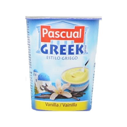 Picture of Pascual Vanilla Greek Style Creamy Yogurt Packs ( 24 Pieces *  125 GM )