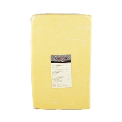 Picture of Mammen Cheddar Cheese White  ( 1 Block  * 5 KG )