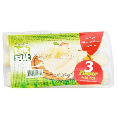 Picture of TekSut Cheese Tasty (3 Style) ( 12 Pieces *  250 GM   )
