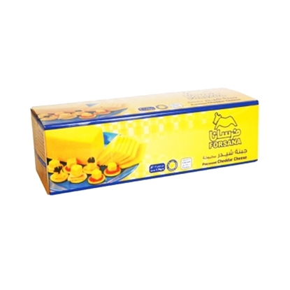 Picture of Forsan Cheese Cheddar Yellow Block ( 6 Pieces * 1700 GM   )