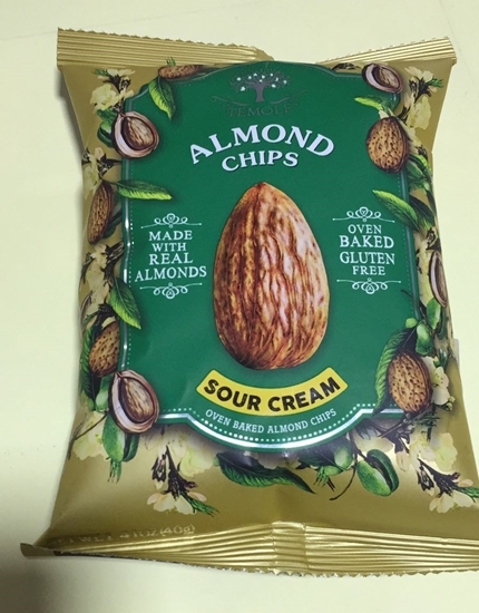 Picture of Temole Almond Chips Sour Cream (40 GM * 24 Pouch  )