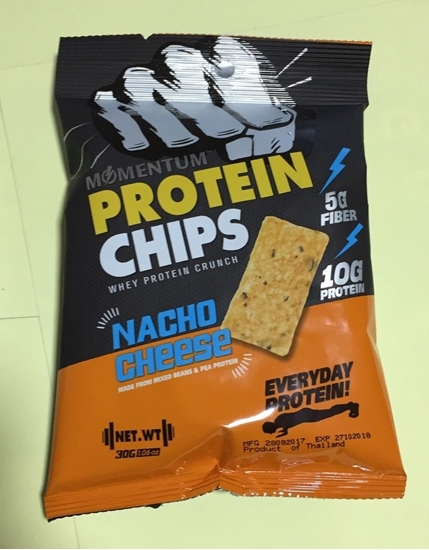 Picture of Momentum Protein Chips Nacho Cheese      ( 30 GM * 24 Pouch  )