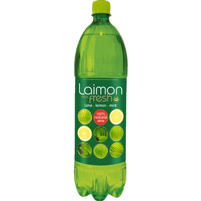 Picture of LAIMON MAX FRESH LEMON LIME MINT DRINK 500 ML