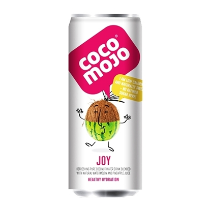 Picture of COCOMOJO JOY PURE COCONUT WATER MELON AND PINEAPPLE JUICE 250 ML