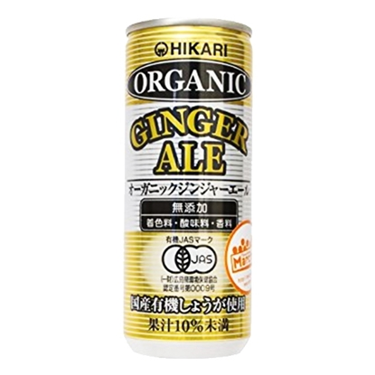 Picture of ORGANIC GINGER ALE 250 ML