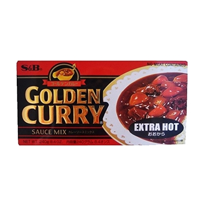 Picture of S&B GOLDEN CURRY MEDIUM HOT 240 GM