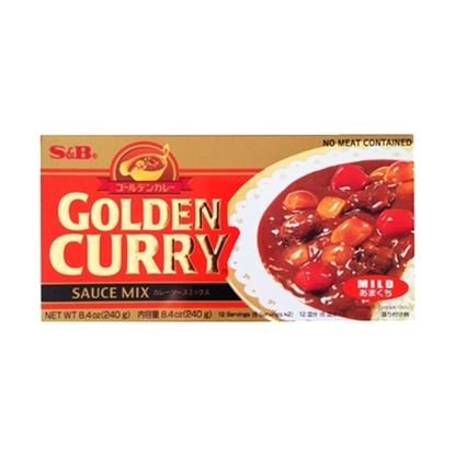 Picture of S&B GOLDEN CURRY MILD 240g