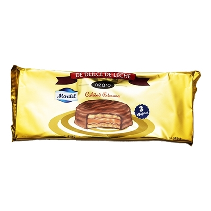 Picture of MARDEL BLACK - MILK CARAMEL ALFAJOR 50GM