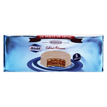 Picture of MARDEL WHITE - MILK CARAMEL ALFAJOR 50 GM
