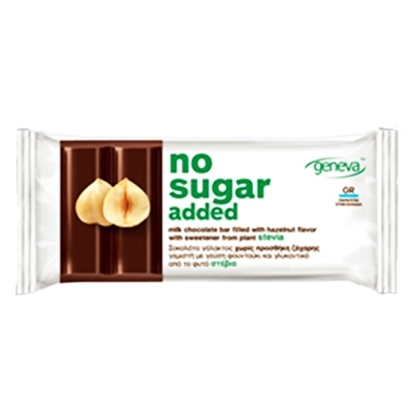 Picture of NO SUGAR MILK CHOCOLATE HAZELNUT 32 GM