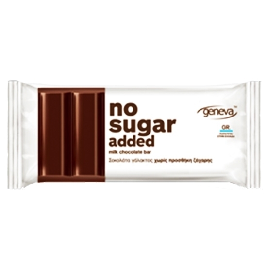 Picture of NO SUGAR ADDED CHOCOLATE WITH COCOA NIBS 30 GM