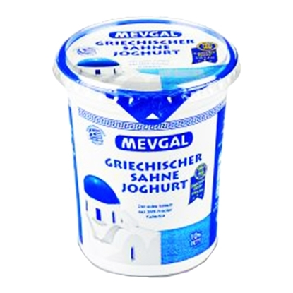 Picture of MEVGAL GREEK YOGHURT FAT 10% 500 GM
