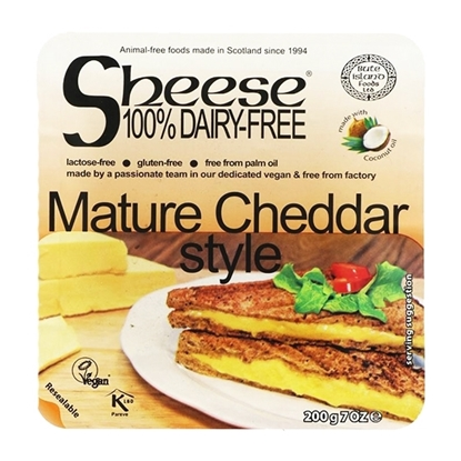Picture of BUTE ISLAND SHEESE MATURE CHEDDAR STYLE BLOCK 200 GM