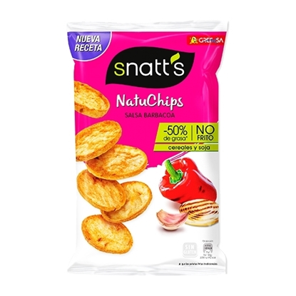 Picture of SNATT S POPPED CHIPS BARBEQUE 75 GM