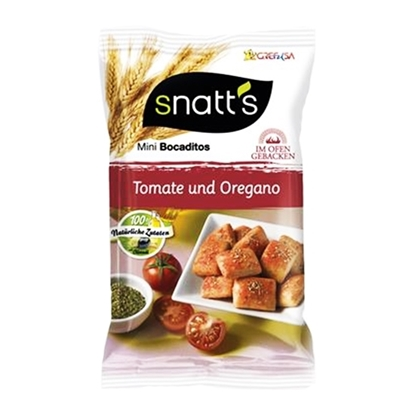 Picture of SNATT S BREAD SNACK TOMATO & OREGANO 35 GM