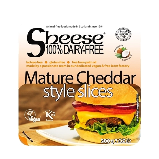 Picture of BUTE ISLAND SLICED MATURE CHEDDAR  STYLE  200 GM