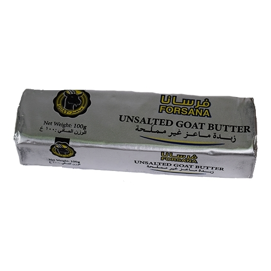 Picture of Forsan Butter Block Goat Unsalted ( 40 Pieces *  100 GM   )