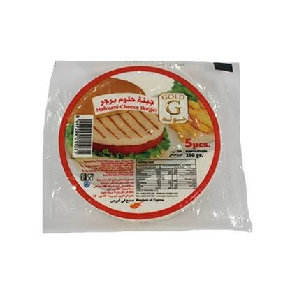 Picture of Gold Cheese Hallumi Burger  ( 36 Pieces *  250 GM )