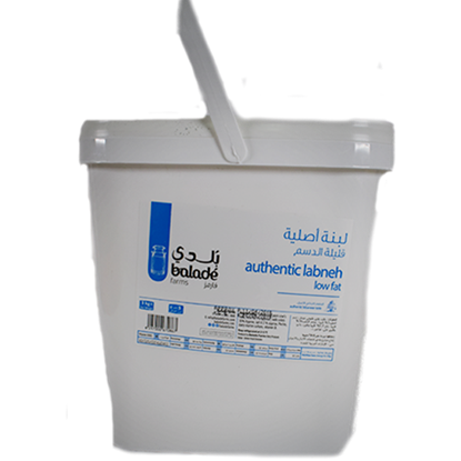 Picture of Balade Fresh Labneh Lebanese Original Low Fat   ( 1 Piece *  5 KG )