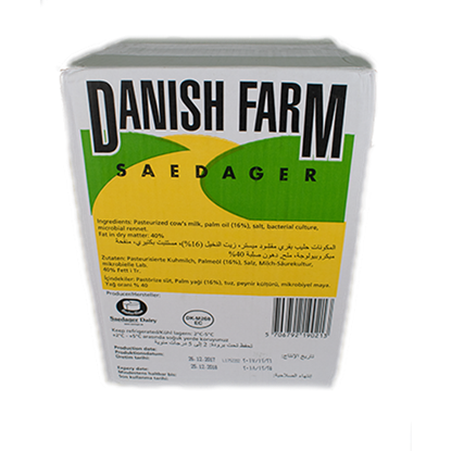 Picture of Mammen Danish Combi White Feta Cheese ( 1 Block * 16 KG )
