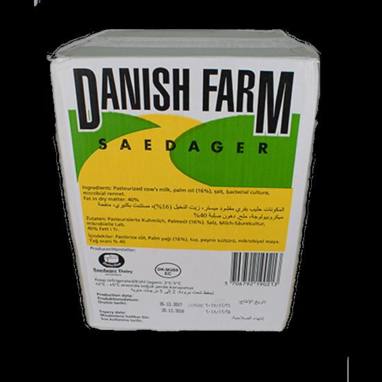 Picture of Mammen Danish Combi White Feta Cheese ( 1 Block * 16 KG )