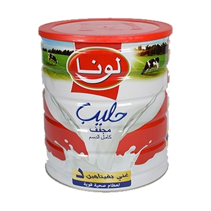 Picture of  Luna UHT Milk ( 12 Tin * 1000 GM )