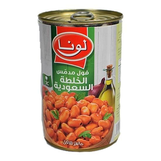 Picture of Luna Foul Saudi Recipe ( 12 Cans * 450 GM )