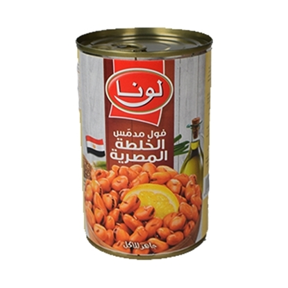 Picture of Luna Foul Egypt Recipe ( 12 Can * 450 GM )