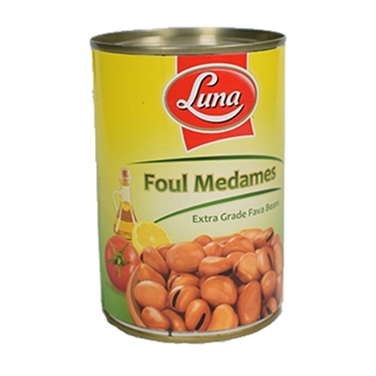 Picture of Luna Foul Medames American Beans ( 24 Cans * 400 GM )