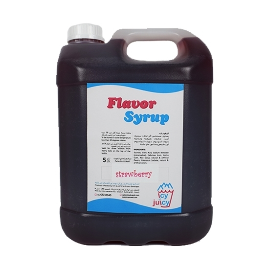 Picture of Strawberry Flavor Syrup