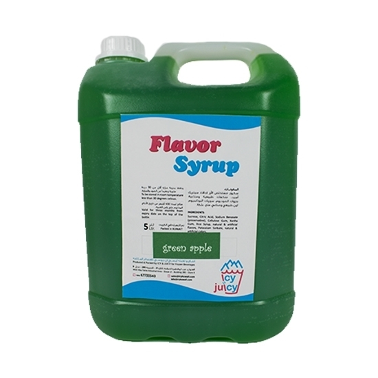 Picture of Green Apple Flavor Syrup
