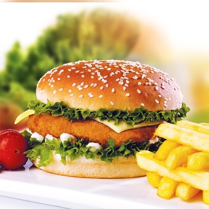 Picture of Naif breaded  Chicken Burger