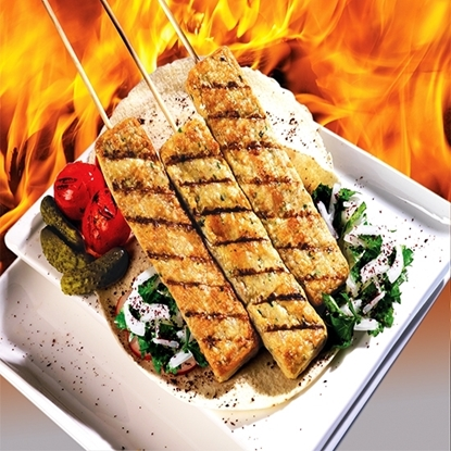 Picture of Naif  Chicken kabab round