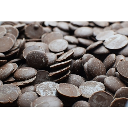 Picture of Barbara Dark Chocolate Coins Couverture 56 % ( 1 Pouch * 10 KG )