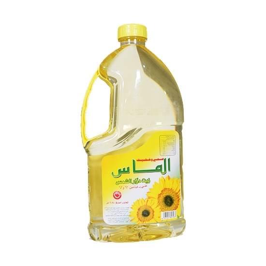 Picture of Almas Sunflower Oil  ( 6 Bottle  * 1.800 KG )