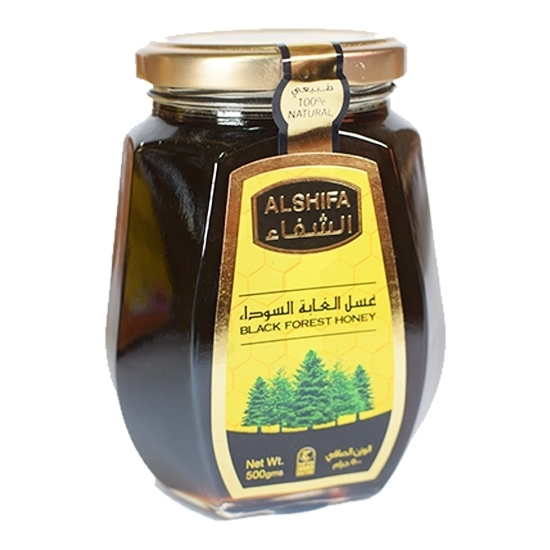 Thawaaq Kuwait Food Marketplace عسل الشفاء الغابة السوداء 500 جم 12 برطمان