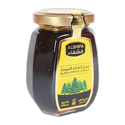 الصورة: عسل الشفاء الغابة السوداء ( 250 جم * 12 برطمان )