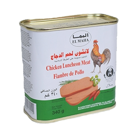 Picture of Al Maha Chicken Luncheon Meat ( 24 Cans * 340 GM )