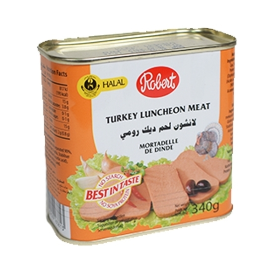 Picture of Robert Turkey Luncheon Meat ( 24 Cans * 340 GM )