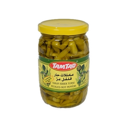 Picture of Tamtad Pickled Hot Peppers Small ( 12 Jar* 330 GM  )