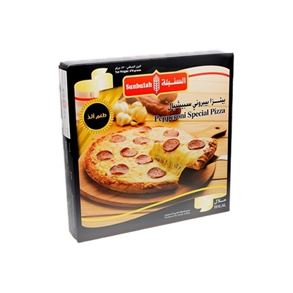 Picture of Sunbulah Pepperoni Pizza Aspchal  ( 12 Box  * 470 GM )