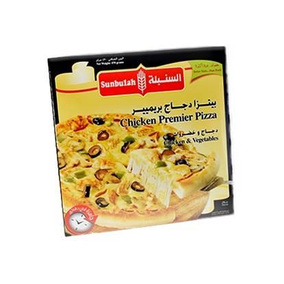 Picture of Sunbulah Chicken Pizza Premier  ( 12 Box  * 470 GM )