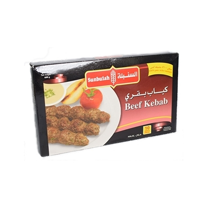 Picture of  Sunbulah Beef Kebabs ( 12 Box * 600 GM )