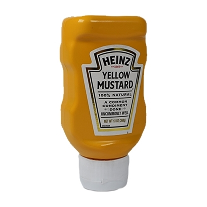 Picture of Heinz Yellow Mustard ( 16 Bottle * 368 GM  )
