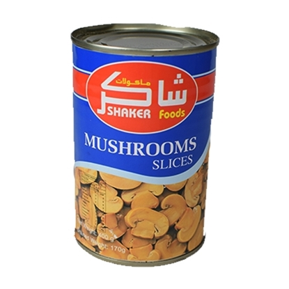 Picture of Shaker China Mushroom Slice ( 24 Can * 400 GM  )