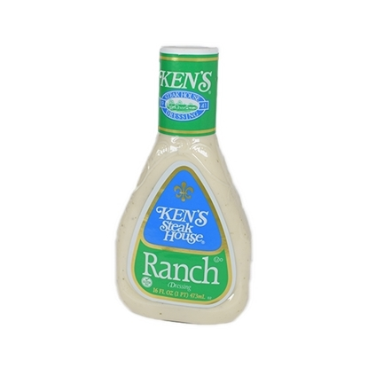 Picture of  Kens Creamy Ranch Dressing  Kens ( 6 Bottle * 473 ML )