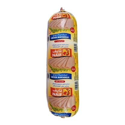 Picture of Naif Plain Chicken Mortadella Roll ( 3 KG * 1 Roll )